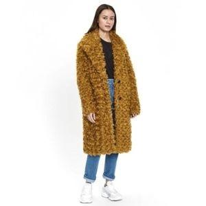 NWT BAUM UND PFERDGARTEN Dary Faux Fur Coat #138